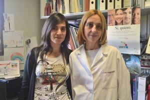 Luisa Botella Cubells (derecha), con un miembro de su equipo, Virginia Albiñana.