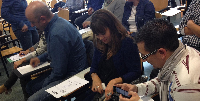Charlas y Talleres, Vórticex Taller de Crowdfunding en la Universidad de Burgos